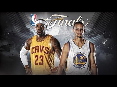 Cleveland Cavaliers vs. Golden State Warriors NBA Finals ...