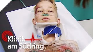 Wegen Mobbing in Mülltonne: Sam (13) will kleinen Bruder retten! | Klinik am Südring | SAT.1 TV