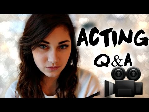 ARE YOU GOOD ENOUGH TO BE AN ACTOR? ACTING Q&A | JENNA LARSON