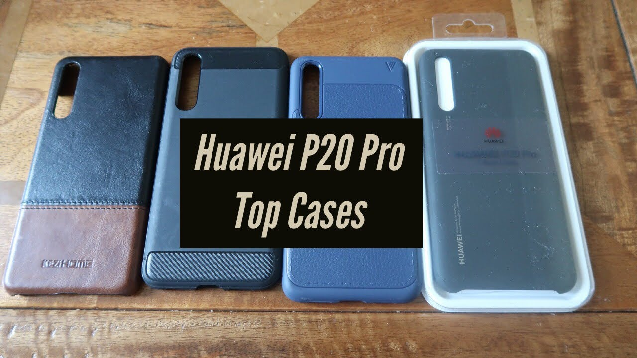 new style 3a378 50d1e Huawei P20 Pro - Top Cases Review