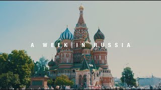 A Week in Russia: The Mysterious Beauty | Moscow | GH5 | Cinematic Travel Film