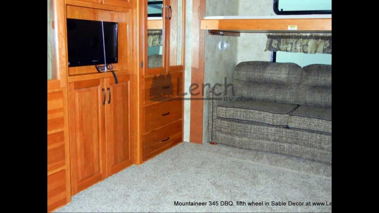 2012 Montana Mountaineer 345 Dbq Bunk House 5th Wheel By