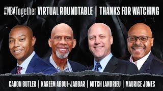 Police Brutality & Health Inequity With Caron Butler, Kareem Abdul-Jabbar & More #NBATogether