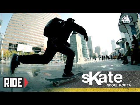 SKATE Seoul, Korea with Daniel Hochman