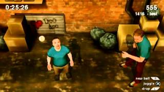 Jackass The Game - Extreme Juggling Gameplay