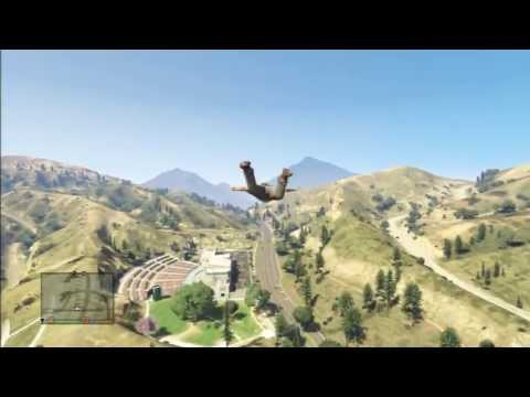 Here's how to make characters fly without a plane in GTA 5