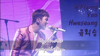 Video \m/ N.Flying 엔플라잉 Yoo Hweseung - high notes compilation \m/ download MP3, 3GP, MP4, WEBM, AVI, FLV Juli 2018