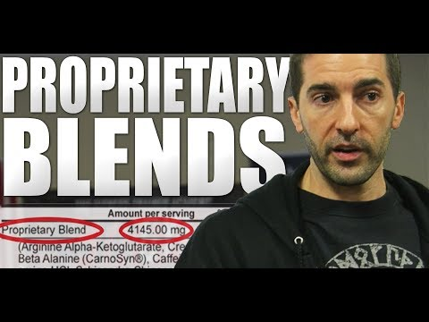Supplement Proprietary Blends   ⚠ SCARY TRUTH EXPLAINED