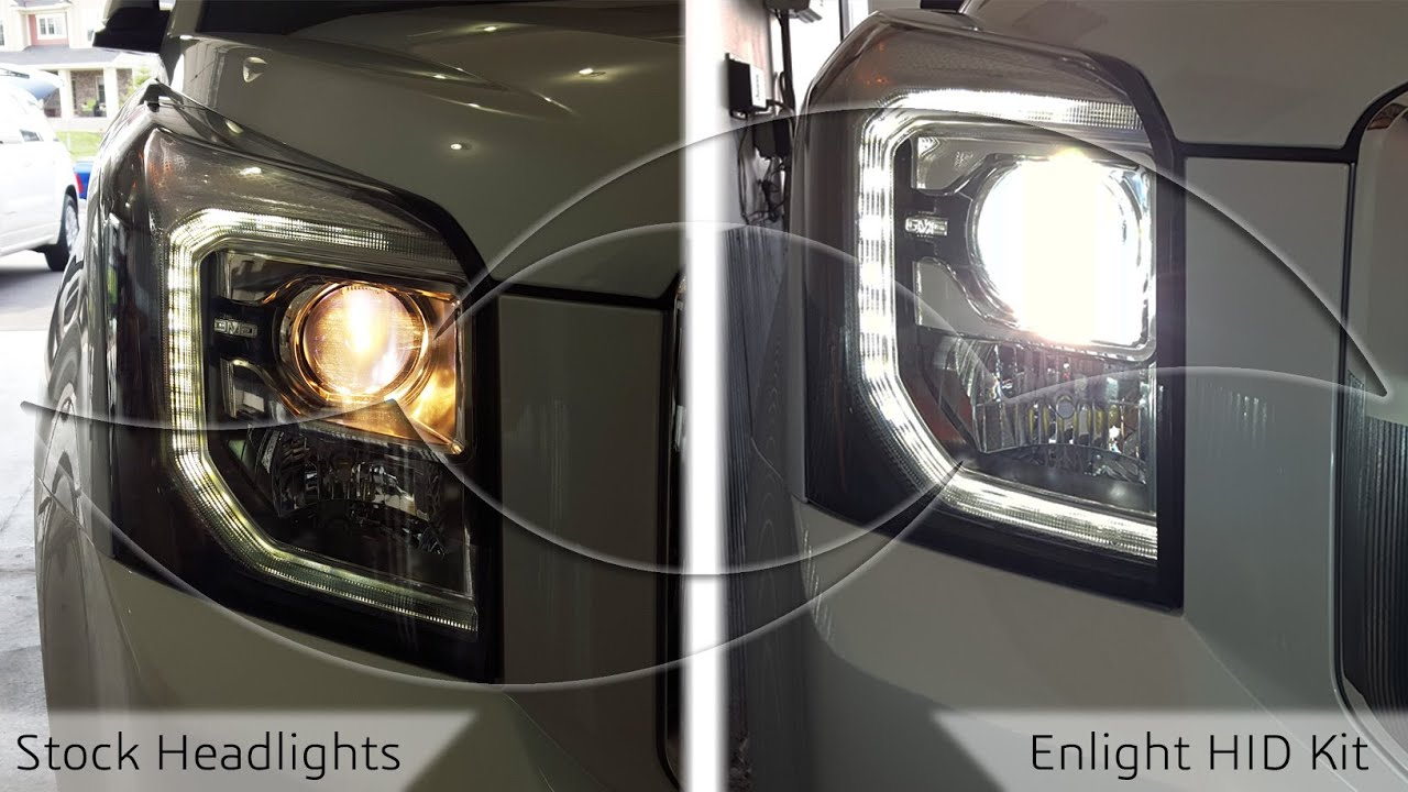 DIY  2014  GMC Yukon HID Headlight Install   YouTube