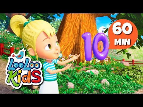 Number Song  Educational Songs for Children  LooLoo Kids