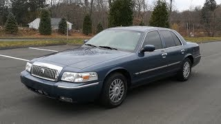 2007 Mercury Grand Marquis - Presentation (Start-Up, Engine, Exhaust, Test Drive, In-Depth-Tour)
