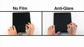 iPad Anti-Glare Film Comparison