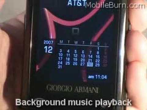 Samsung SGH-P520 Giorgio Armani Cellphone