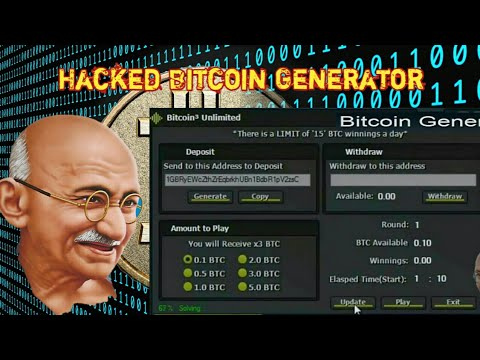 2017 Best Bitcoin Generator For Free Top 3X Bitcoin Adder Earn 0.4 To 15 BTC A Day