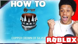 GETTING THE COPPER CROWN OF SILVER IN ROBLOX! (LIVE WALKTHROUGH) *READY PLAYER ONE EVENT*