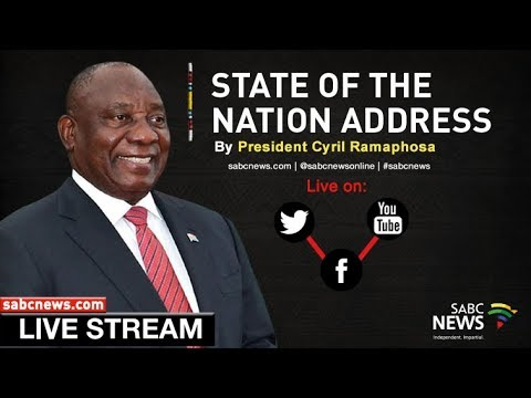 SONA 2019 build up and main speech