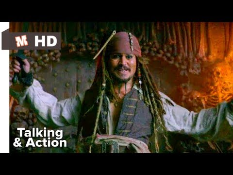 Pirates Of Caribbean 4 Hindi On Stranger Tides Talking U0026 Action Scene