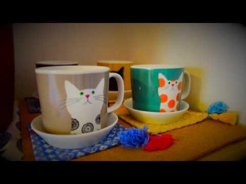 Cat themed apartment in Japan 広島で ネコ アパート