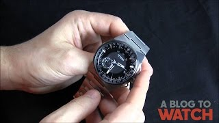 Citizen Eco-Drive Satellite Wave F100 Watch Review | aBlogtoWatch