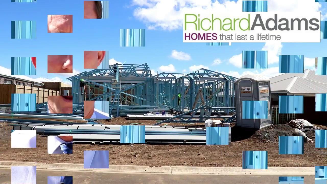 STEEL FRAME HOMES BY RICHARD ADAMS HOMES - YouTube