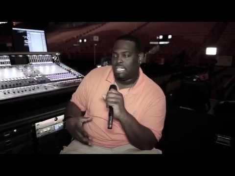Janet Jackson FOH engineer Kyle Hamilton on Lewitt mics