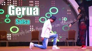 Gerua - best bollywood salsa dance video | Dilwale | Shah Rukh Khan | saadstudio