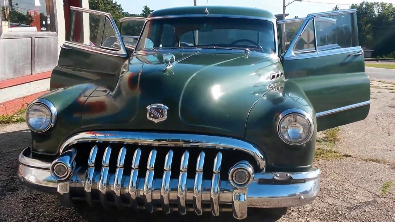 1950 buick super straight 8 - youtube