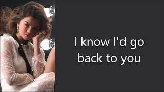 Selena Gomez ~ Back To You ~ Lyrics