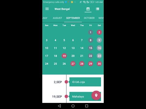 holiday india 2018 public holiday calendar apps on google play
