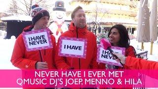 never have i ever in de sneeuw met qmusic djs joep menno hila