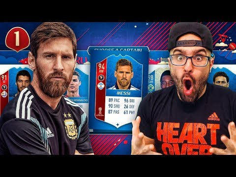 INSANE WORLD CUP DRAFT REWARDS! FIFA 18 DRAFT TO GLORY #01