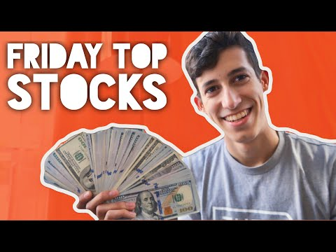 My Top Stocks To Trade This Friday | Swing Trades
