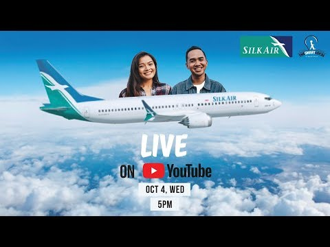 FIRST LOOK AT SILKAIR'S NEWEST PLANE! | TSL Vlogs (LIVE)