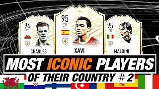 MOST ICONIC PLAYERS OF THEIR COUNTRY 2 ft Italy Spain Wales Russia