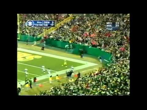 PACKERS - AHMAN GREEN 98YD TD RUN