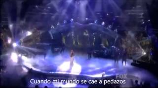 Miley Cyrus - When I look at you LIVE subtitulado en español
