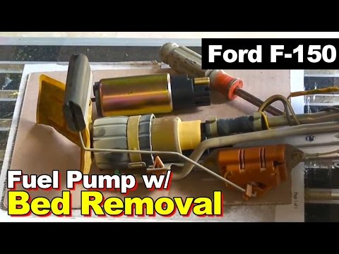 1997-2003 Ford F150 Fuel Pump Replacement with Truck Bed Removal & Quick Disconnect Fuel Line Tool