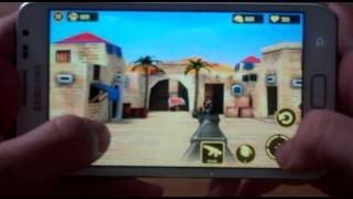 Gaming on the Samsung Galaxy Note