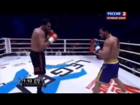 Badr Hari KO by Zabit Samedov 25 May 2013 Moscow (25-05-2013)