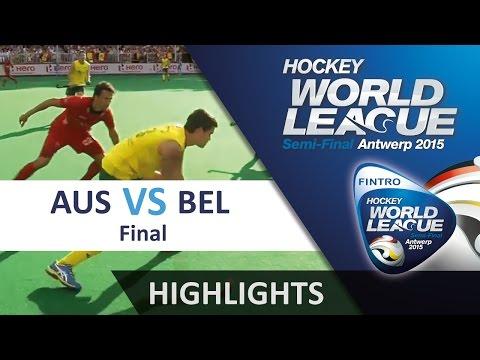 Australia v Belgium Match Highlights - Antwerp Men's HWL (2015)