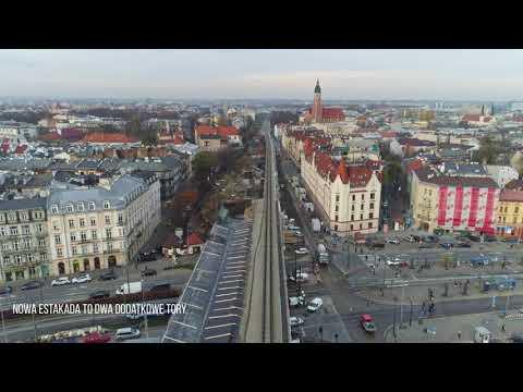 Kraków: Powstają podpory nowej estakady