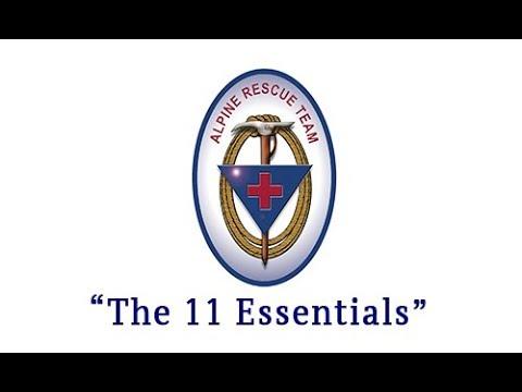 Alpine Rescue Team: The 11 Essentials