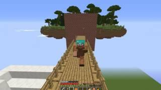 Карта пушистые острова для майнкрафт - Minecraft
