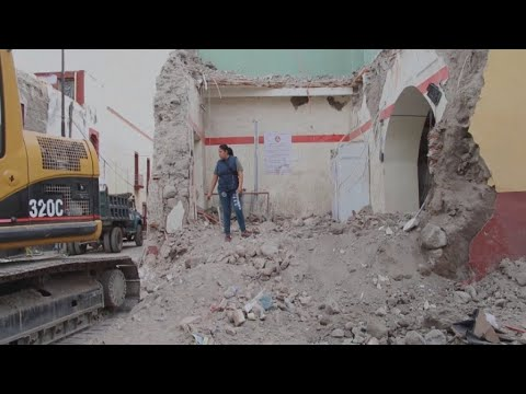 فرانس 24:Mexico hit by another deadly earthquake