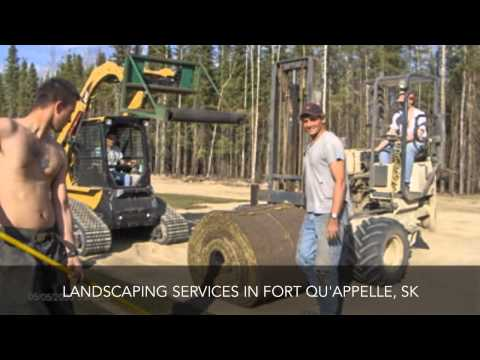 Landscaping Services Fort Qu'appelle SK Sod-Busters