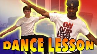 MattyBRaps Dance Lesson with Elijah!