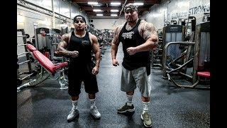 SICK ARM PUMP AT THE YMCA | PITBULL AND BIG BOY