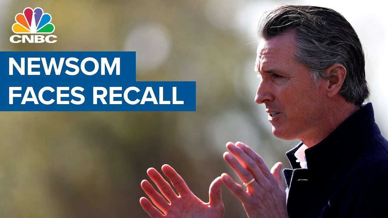 California Gov. Gavin Newsom to face recall vote as petition drive ...