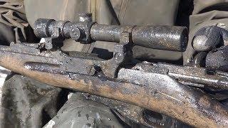 Нашли в болоте снайпера или пулеметчика? Неожиданная находка на металлоискатель и поисковый магнит