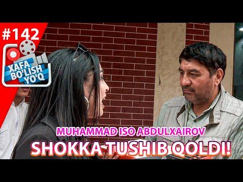 Xafa Bo'lish Yo'q 142-son Muhammad Iso Abdulxairov SHOKKA TUSHIB QOLDI! (24.04.2021)
